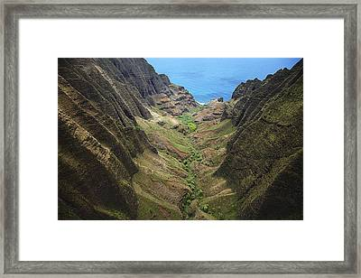 Awaawapuhi Valley Framed Print by Peter French - Printscapes