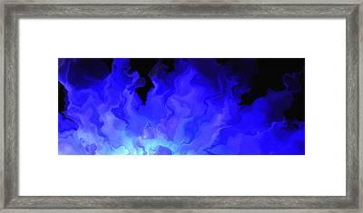Awake My Soul - Abstract Art Framed Print by Jaison Cianelli