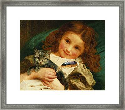 Awake Framed Print by Sophie Anderson