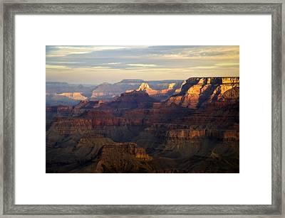 Awakening, Grand Canyon From Moran Point, Arizona, Usa Framed Print by Frank Peters