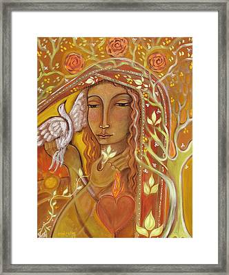 Awakening Framed Print by Shiloh Sophia McCloud
