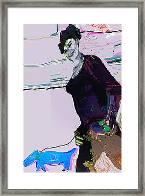 Awalk Framed Print by Noredin Morgan