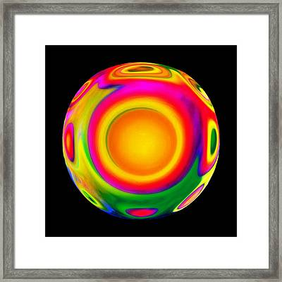 Awareness  Framed Print by Jacqueline Migell