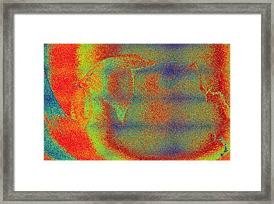 Away Framed Print by Camille Reichardt