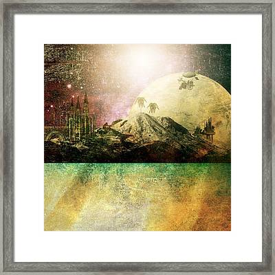 Away From It All Framed Print by Ally  White