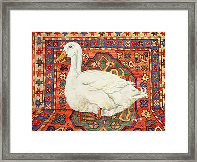 Aylesbury Carpet Drake Framed Print by Ditz