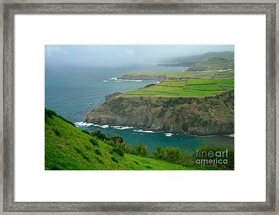 Azores Coastal Landscape Framed Print by Gaspar Avila