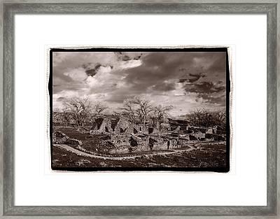 Aztec Ruins National Monument Framed Print by Steve Gadomski