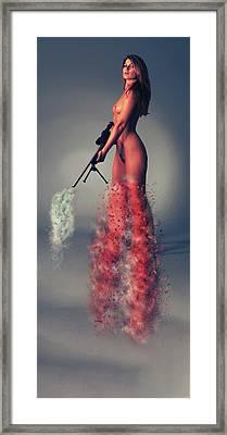 B A N G - B A N G Framed Print by Nichola Denny