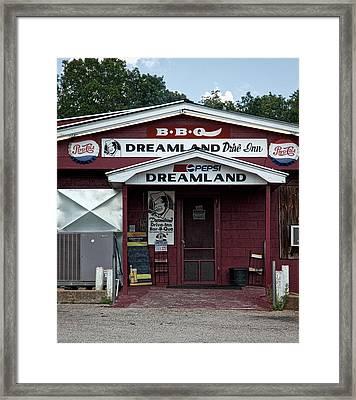 B B Q Dreamland - Tuscaloosa Alabama Framed Print by Mountain Dreams