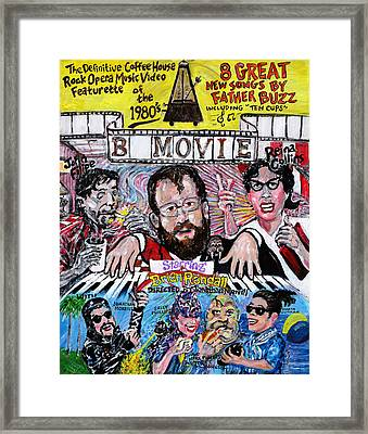 B Movie Framed Print by Jonathan Morrill