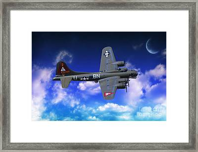 B17 Flying Fortress Framed Print by Stephen Smith