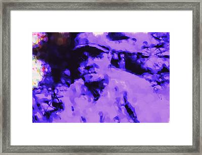 Babe Ruth 2b Framed Print by Brian Reaves