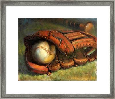 Babe Ruth Tribute Baseball Yankees Buy Babe Ruth Framed Print by Hall Groat II