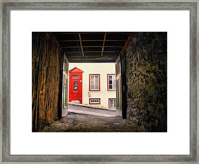 Baby I'm On Fire... Framed Print by Russell Styles