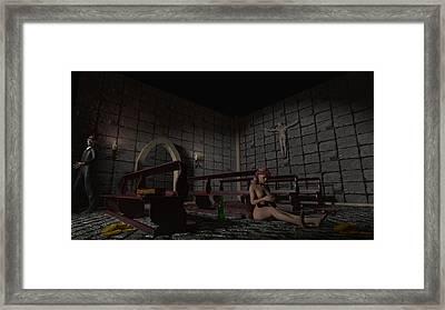Babylon She Has Fallen Framed Print by Brainwave Pictures