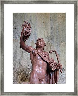 Bacchus Framed Print by Mindy Newman