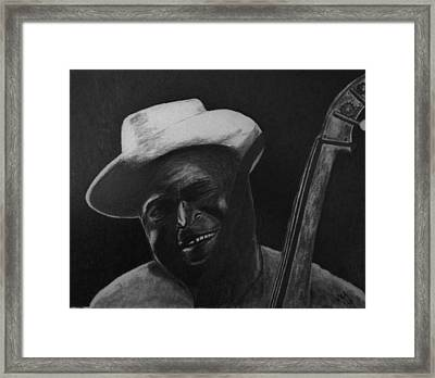 Back Door Man Framed Print by Nick Young