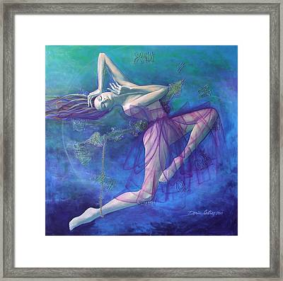 Back In Time Framed Print by Dorina  Costras