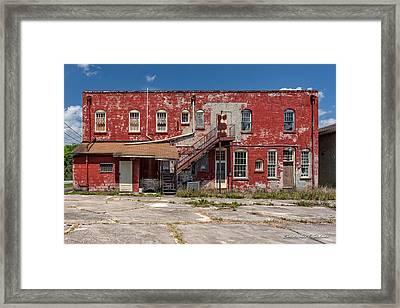 Back Lot Framed Print by Christopher Holmes