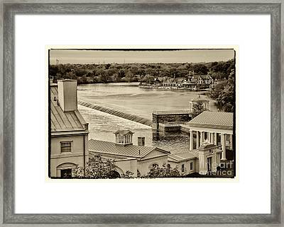 Back Of Water Works Framed Print by Jack Paolini