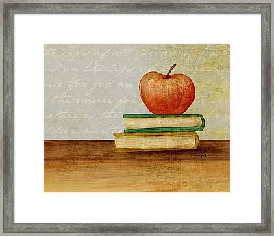 Back To School Framed Print by Brenda Bryant