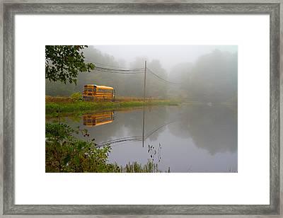 Back To School Framed Print by Karol Livote