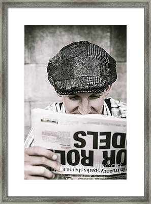 Back When News Was True Framed Print by Jorgo Photography - Wall Art Gallery