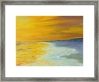 Backwash Framed Print by Conor Murphy
