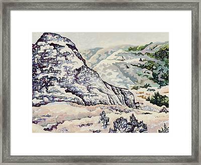 Badlands #2 Framed Print by Dale Beckman