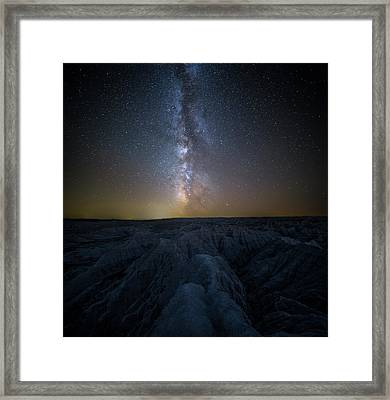 Badlands II Framed Print by Aaron J Groen