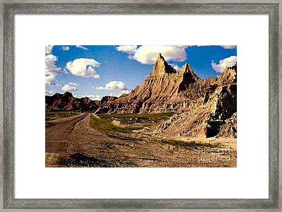 Badlands National Park  Framed Print by Ruth  Housley
