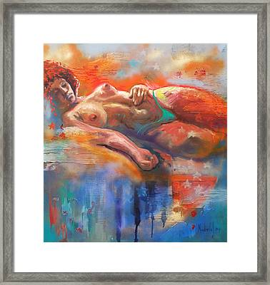Bahia Framed Print by Rick Nederlof