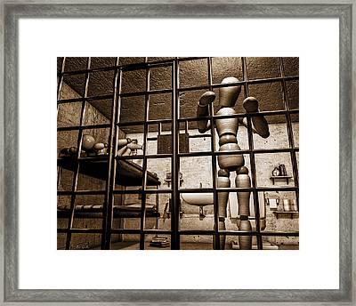 Bail Denied  Framed Print by Bob Orsillo