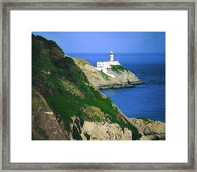Baily Lighthouse, Howth, Co Dublin Framed Print by The Irish Image Collection