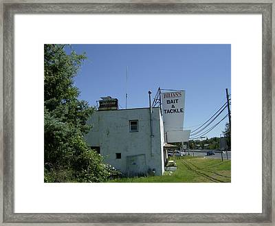 Bait And  Tackle Framed Print by Brian Degnon