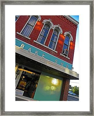 Bake Shop Framed Print by Elizabeth Hoskinson