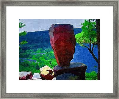 Balance Framed Print by Deborah MacQuarrie-Haig