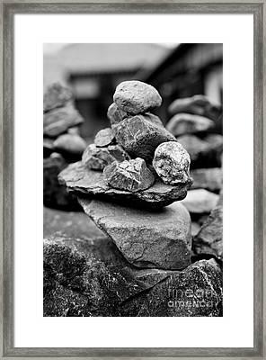 Balanced Framed Print by Dean Harte