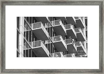 Balcony Colony Framed Print by WaLdEmAr BoRrErO