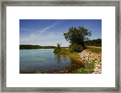 Bald Eagle State Park Framed Print by Tom Gari Gallery-Three-Photography
