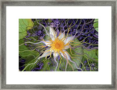 Bali Dream Flower Framed Print by Christopher Beikmann