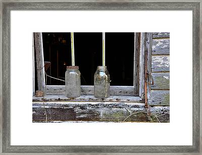 Ball And Atlas Framed Print by Todd Hostetter