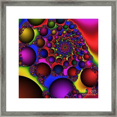 Ball Galaxy 203 Framed Print by Rolf Bertram