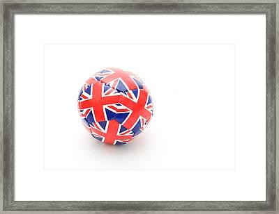 Ball Framed Print by Tom Gowanlock