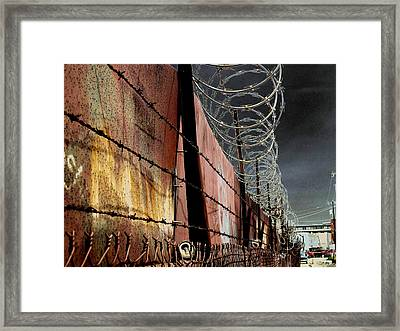 Ballard In Seattle Framed Print by Jeff Burgess