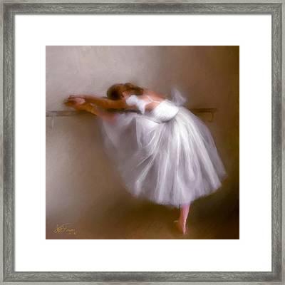 Ballerina 1 Framed Print by Juan Carlos Ferro Duque