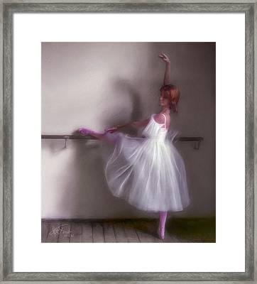 Ballerina-2 Framed Print by Juan Carlos Ferro Duque