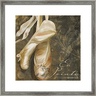 Ballet Danse Framed Print by Mindy Sommers