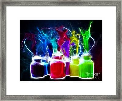 Ballet Of Colors Framed Print by Pamela Johnson